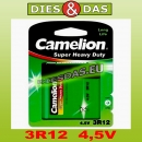 Camelion Super Heavy Duty 3R12 4,5V 1er Blister