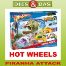 Mattel Hot Wheels Colour Shifters Piranha Attack Rennbahn