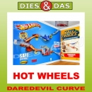 Mattel Hot Wheels Wall Tracks Daredevil Curve Rennbahn