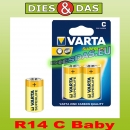 Varta Superlife C Baby R14 2er Blister