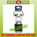 Varta XS Camping Laterne LED 4AA